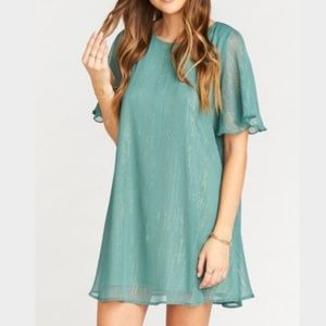 SMYM Sparkle & Shine Sage Jenner Dress